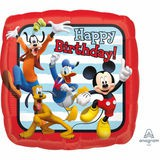 Fólia lufi Happy Birthday Mickey&Donald